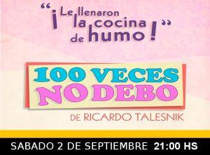 100 VECES NO DEBO