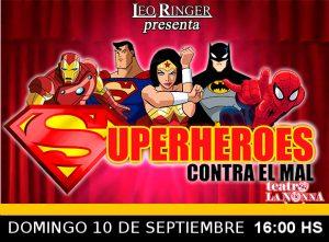 SUPERHEROES CONTRA EL MAL
