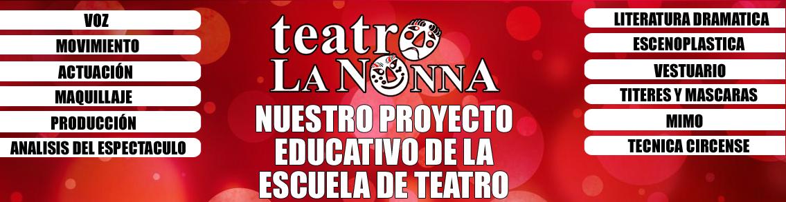 PREYECTO EDUCATIVO DE TEATRO