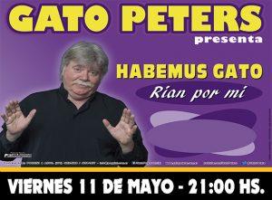 "GATO PETERS - ""Habemus Gato"" @ La Plata | Buenos Aires | Argentina"