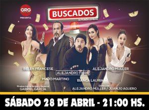 BUSCADOS - Alejandro Müller, Belén Francese y Alejandro Fiore @ La Plata | Buenos Aires | Argentina