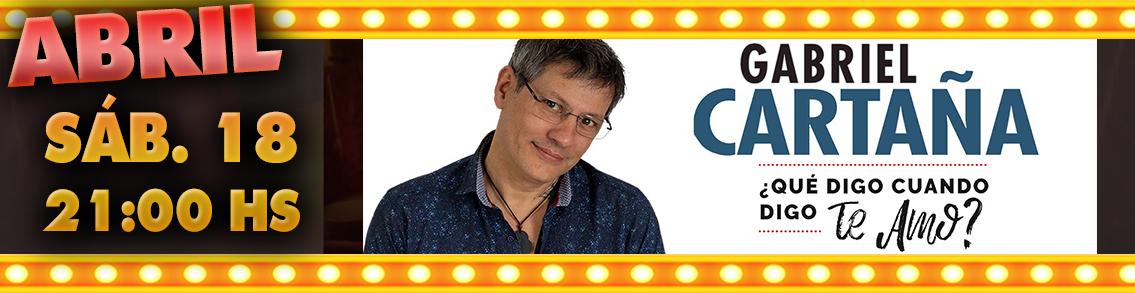 GABRIEL CARTAÑA
