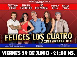FELICES LOS CUATRO @ La Plata | Buenos Aires | Argentina