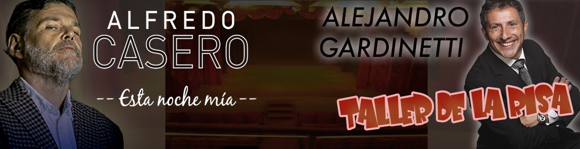 SEPTIEMBRE: Alfredo Casero / Alejandro Gardinetti