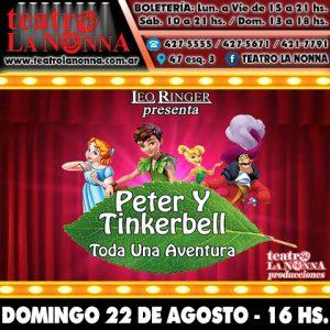 PETER Y TINKERBELL @ La Plata | Buenos Aires | Argentina