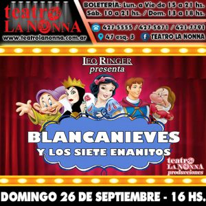 BLANCANIEVES @ La Plata | Buenos Aires | Argentina