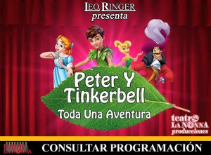 PETER Y TINKERBELL @ La Plata | Buenos Aires | Argentina