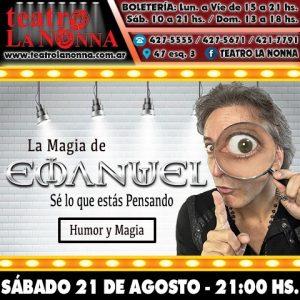EL MAGO EMANUEL @ La Plata | Buenos Aires | Argentina