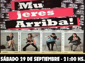 MUJERES ARRIBA - Show de Stand Up @ La Plata | Buenos Aires | Argentina