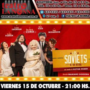 LOS SOVIETS DE SAN ANTONIO @ La Plata | Provincia de Buenos Aires | Argentina