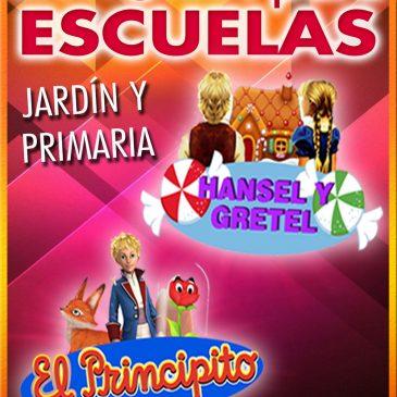 TEATRO PARA ESCUELAS: Hansel y Gretel / El Principito