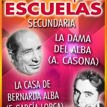 TEATRO PARA ESCUELAS: La Dama del Alba / La Casa de Bernarda Alba