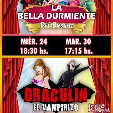 LA BELLA DURMIENTE / DRACULÍN