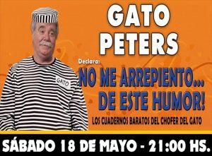"""GATO PETERS - """"No me arrepiento de este humor"""""""