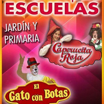 TEATRO PARA ESCUELAS: Caperucita Roja / El Gato con Botas