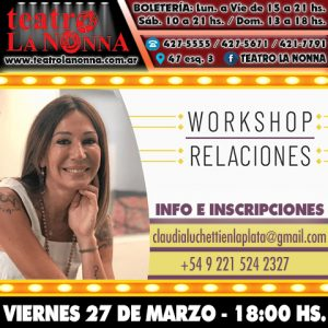 WORKSHOP RELACIONES