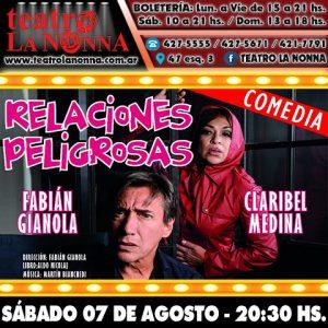 RELACIONES PELIGROSAS con Fabián Gianola y Claribel Medina