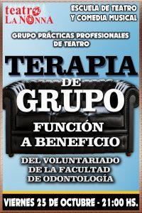 TERAPIA DE GRUPO - Función a beneficio del Voluntariado de la Facultad de Odontología de La Plata