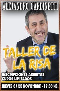 TALLER DE LA RISA por Alejandro Gardinetti