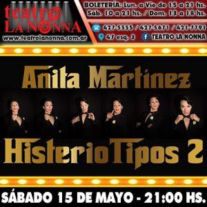 """ANITA MARTÍNEZ - """"Histeriotipos 2"""""""