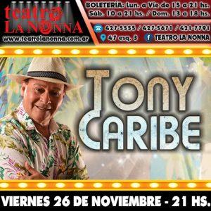 TONY CARIBE @ La Plata   Provincia de Buenos Aires   Argentina